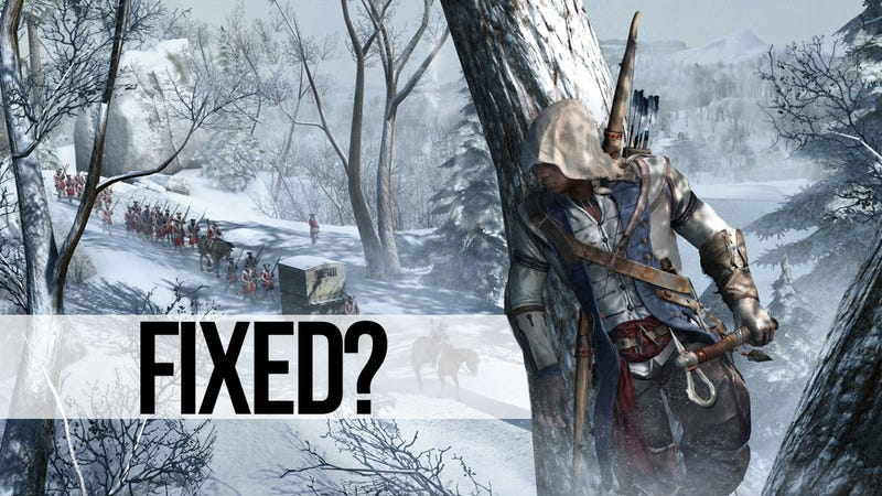 Massive Assassin's Creed III Patch Promises To Solve Many of the Game's Problems