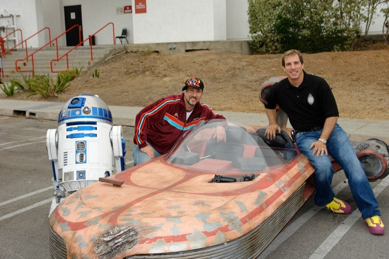 Drivable Star Wars Landspeeder Will Not Take You To Mos Eisley, Still Kicks Ass