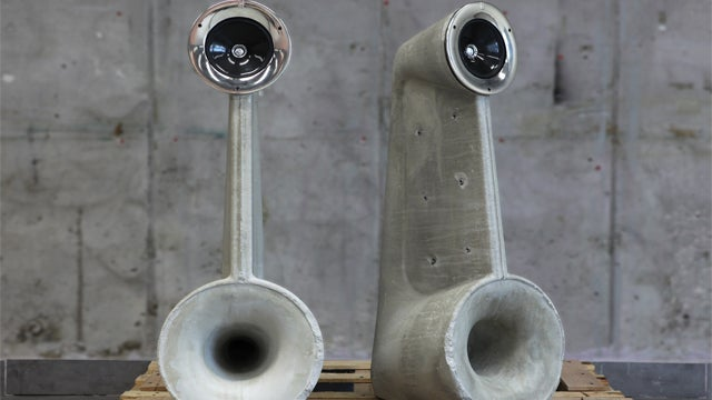 Concrete Speakers Sound Solid