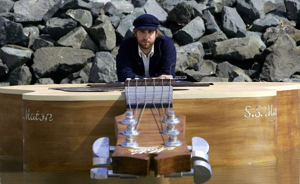 Josh Pyke's Guitar Boat Floats on an Ocean of Rock
