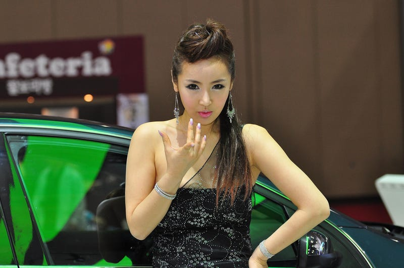 2009 Seoul Motor Show: Kimchi-Flavored Booth Professionals