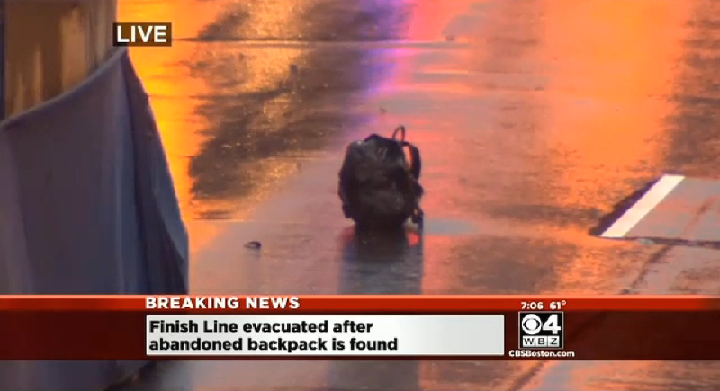 Boston Marathon Finish Line Evacuated, Police Detonate Two Backpacks