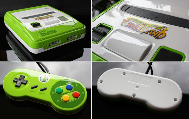 About Damn Time Someone Made a Yoshi SNES