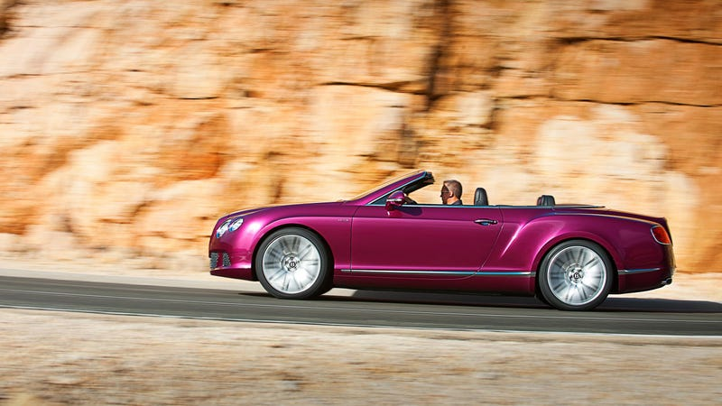 The 2013 Bentley Continental GT Speed Is The World's Fastest Four-Seat Convertible