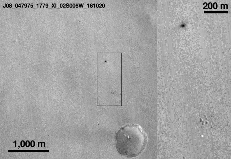 This Is Our Best Image Yet of ESA's Crashed Mars Lander