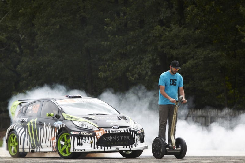 Gymkhana 3: Ken Block Drifts Up A Wall