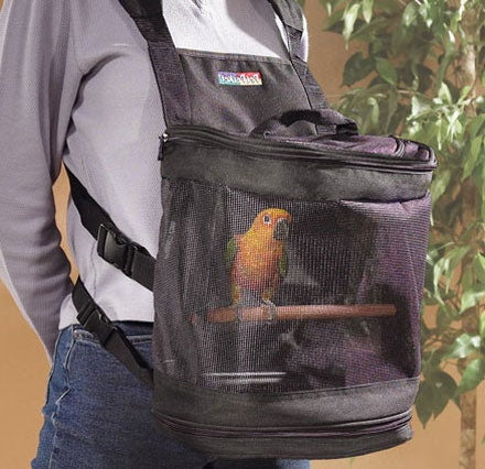 Birdcage Backpack Will Get Both You and Your Bird Beat Up