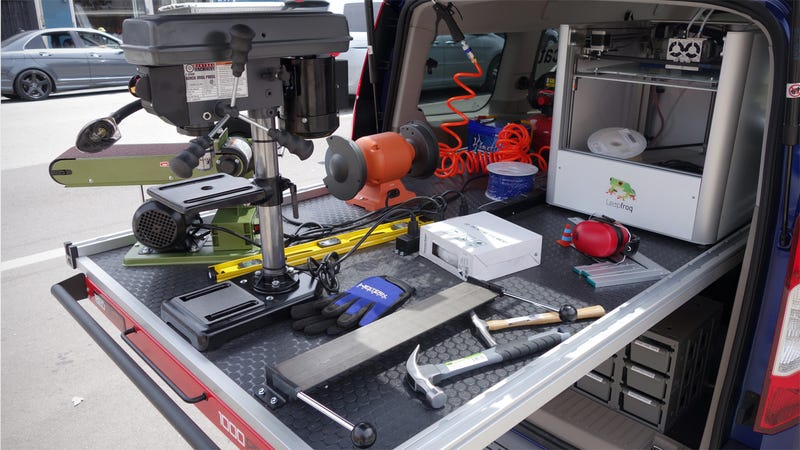 The Hackmobile Has Everything You Need To Make Anything You Want
