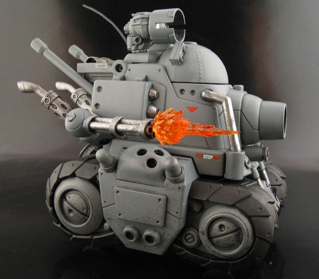 This Awesome Metal Slug Tank Was Born a Fisher Price Toy