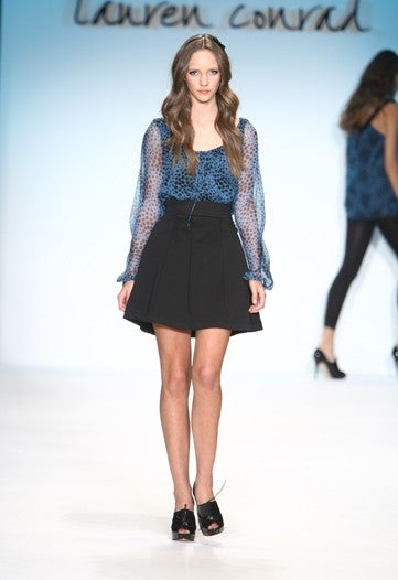 A Few Hills, Mostly Valleys At Lauren Conrad's Fashion Show