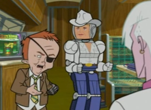 On Venture Bros., vampire prostitutes help Billy Quizboy become a man