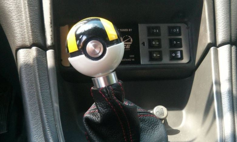 He Took The Ultraball From Pokémon And Turned It Into A Gear Shifter