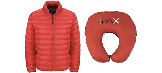 A Jacket That Transforms Into a Neck Pillow Is Perfect For Traveling