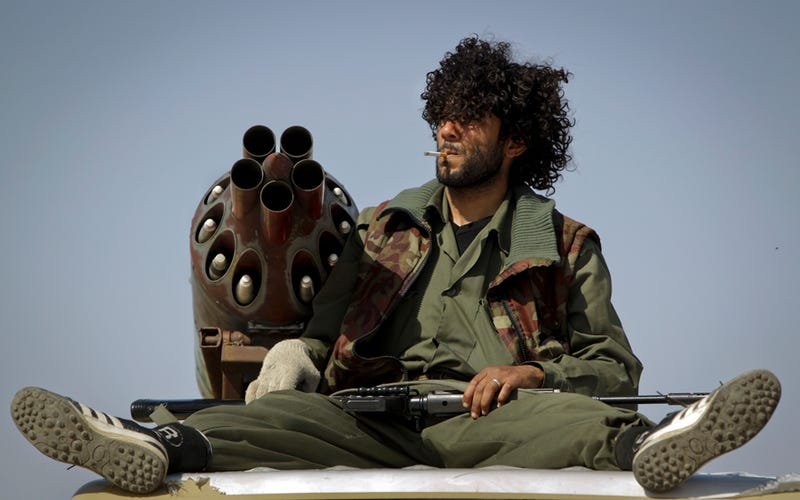 Libyan Rebels are Raging Potheads