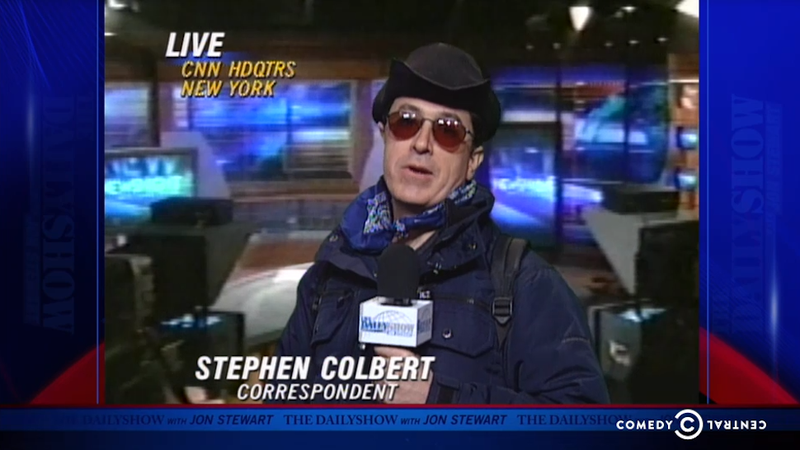 Shed a Tear as Stephen Colbert Visits The Daily Show to Say Goodbye