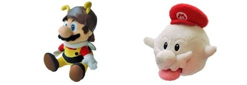 They Listened: Buy Bee, Boo Mario Plushies