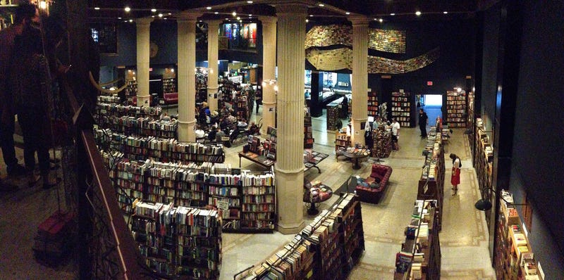 "How L.A.'s ""Last Bookstore"" evolved from post-apocalyptic to magical"