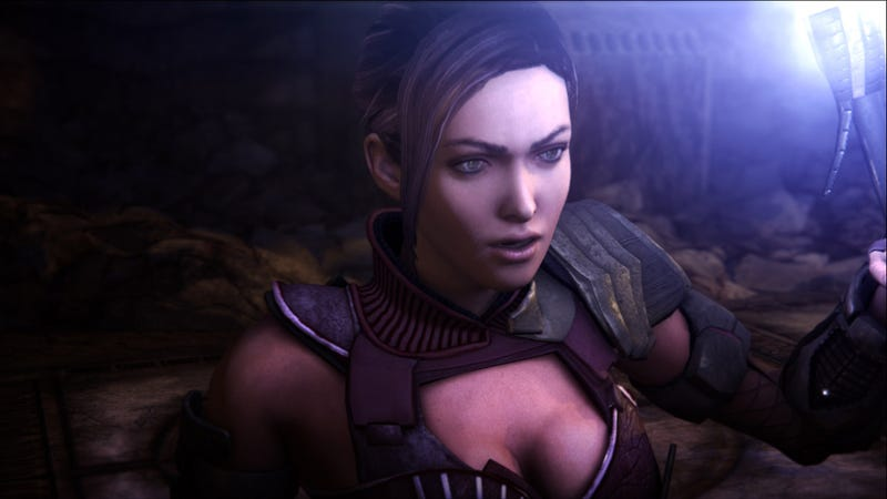 Red Faction: Armageddon's Kara Smuggles Cleavage Into The Martian Colonies