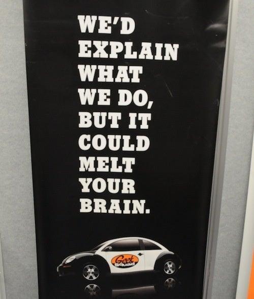 Geek Squad's CES Ads Are Surprisingly Honest