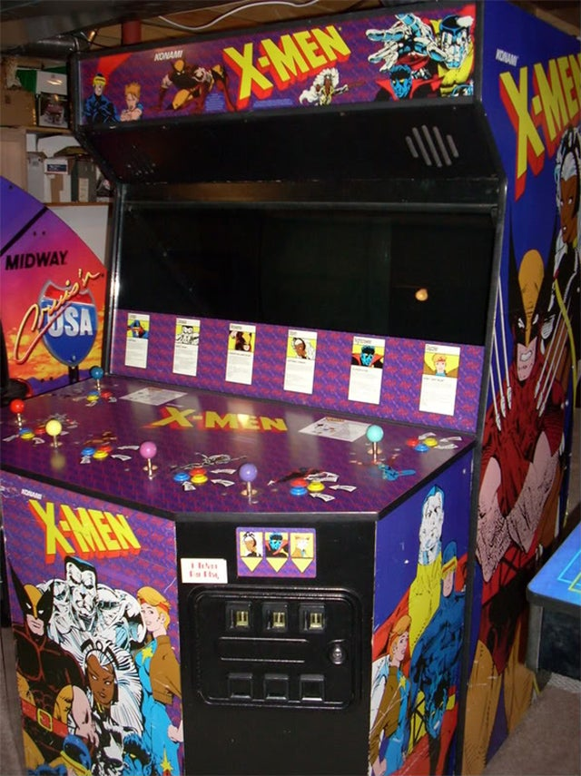 X-Men's Giant Six-Player Cabinet Was an Arcade Marvel