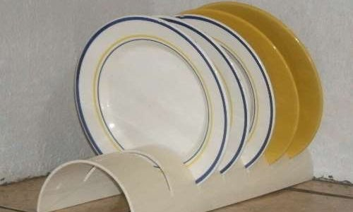 Repurpose a PVC Pipe into a Durable Dish Rack