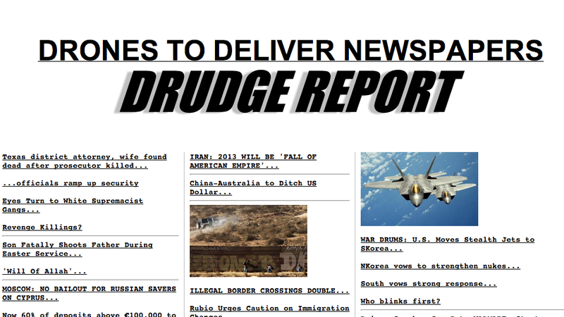 No, Matt Drudge, Drones Are Not Delivering Newspapers in France