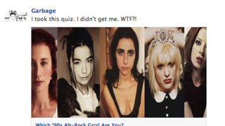 Shirley Manson Takes BuzzFeed's Alt Grrrl Quiz, Doesn't Get Herself