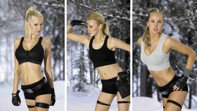 Miss Finland Must Cosplay as Lara Croft
