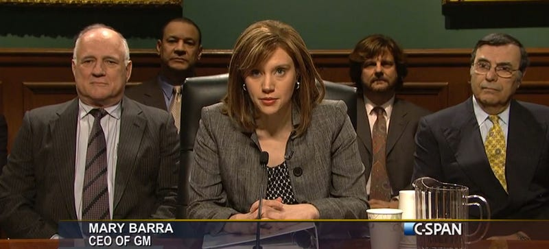Watch Saturday Night Live Perfectly Tear Into GM CEO's Testimony