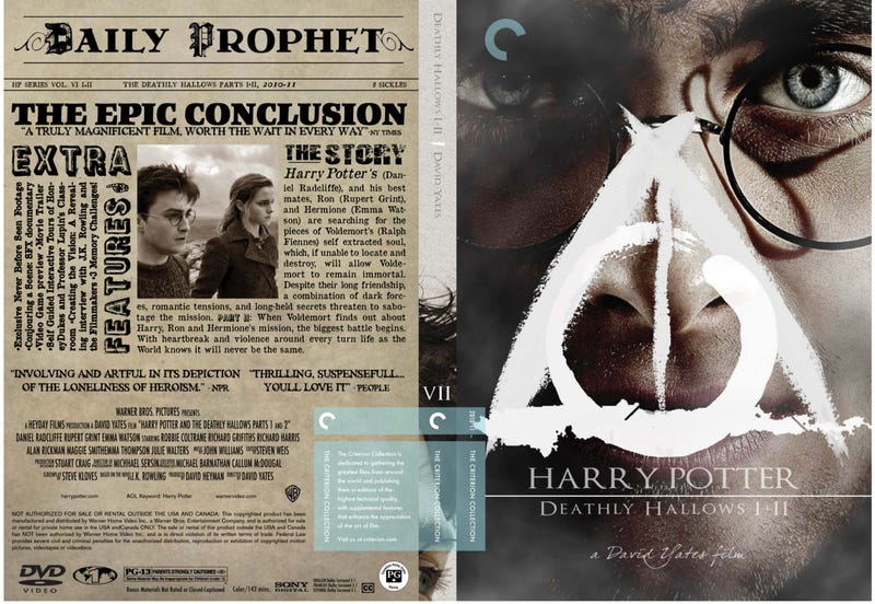 What if the Harry Potter films got the Criterion Collection treatment?