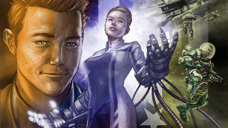 Morning Star Alpha is No Ordinary Comic Book Game Tie-In