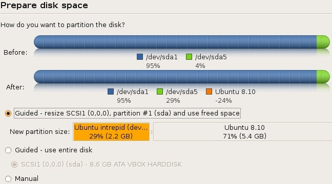 "First Look at Ubuntu 8.10 ""Intrepid Ibex"" Beta"