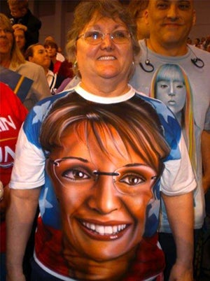 Palin Fans Somehow Figure Out Computers