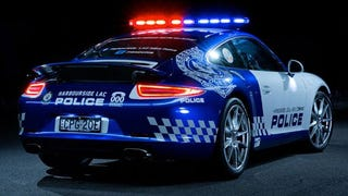 Australian Cops Got This Ominously Beautiful Porsche 911 Police Car