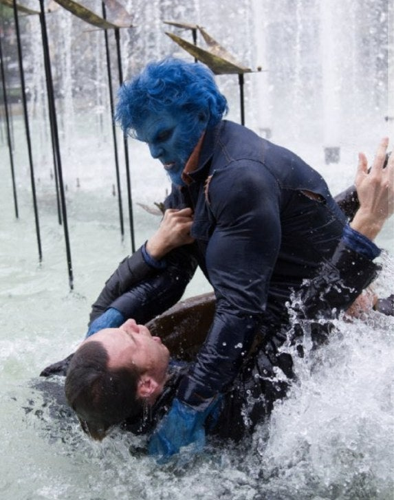 The Beast explains why he's not blue in X-Men: Days of Future Past
