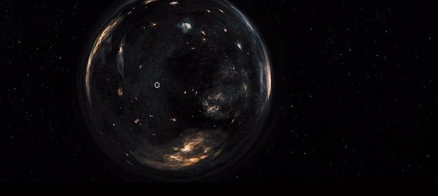 Interstellar may be the first movie that shows realistic warp travel