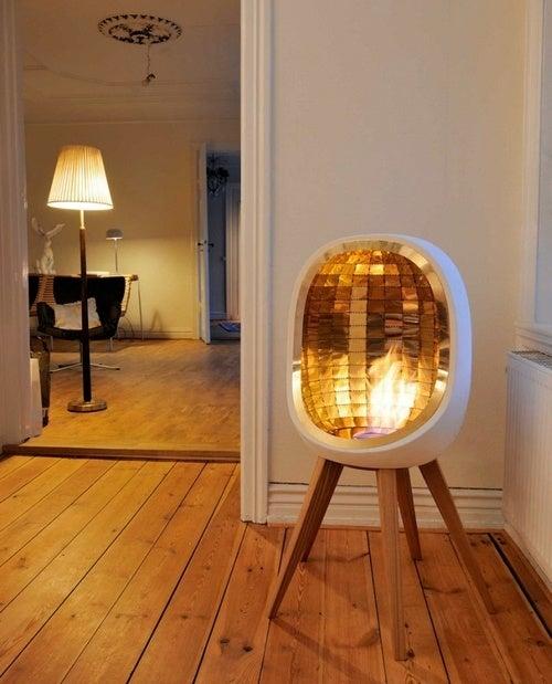 Piet Portable Fireplace Looks Like Something NASA Would Make
