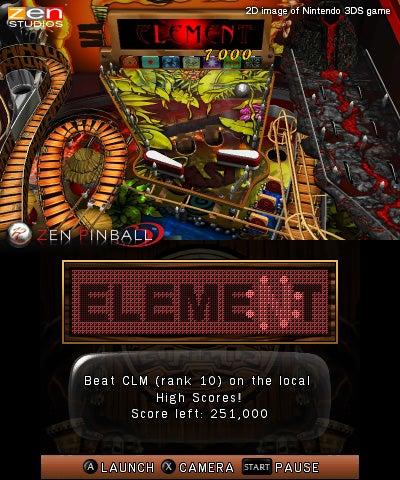 Zen Pinball 3D Coming to 3DS via Nintendo eShop This Fall