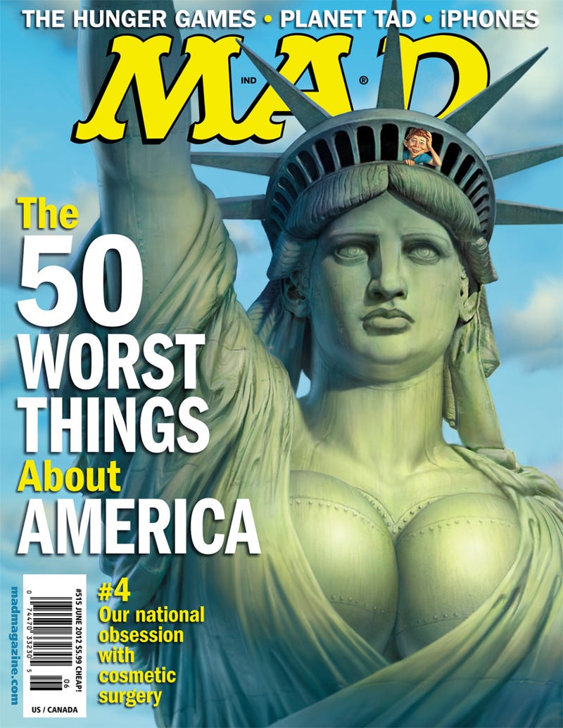 "Mad Magazine Declares iPhones One of ""The 50 Worst Things in America"""