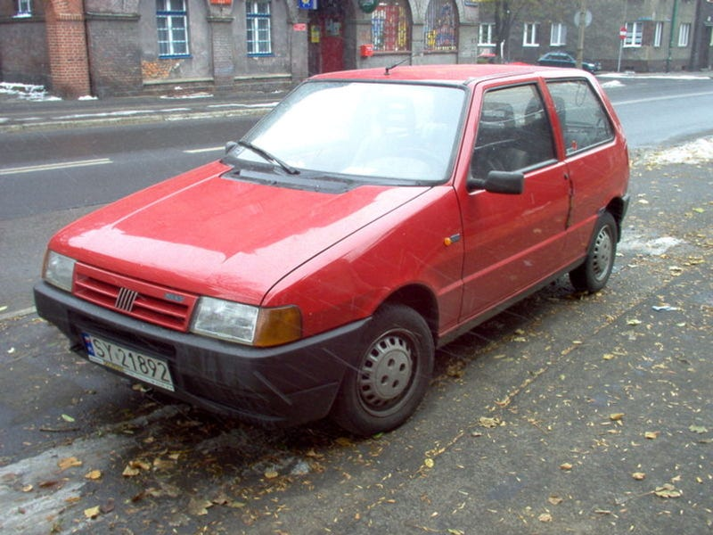 Fiat Uno Racks Up Largest Parking Ticket Ever