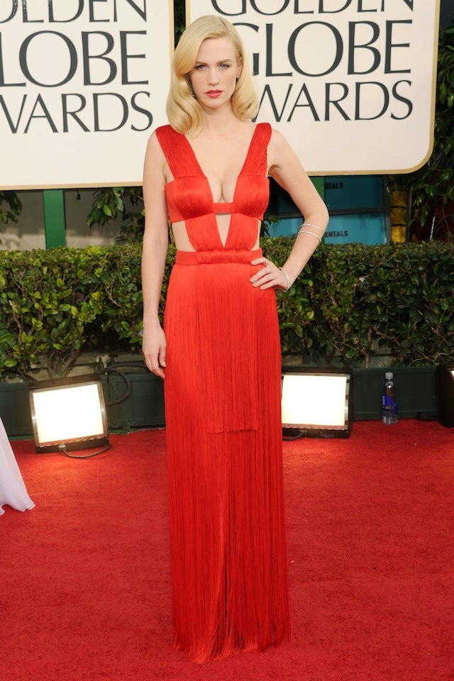 Red Carpet Fashion: Scarlett, Kelly Osbourne, January, Emma Stone, & Chris Colfer