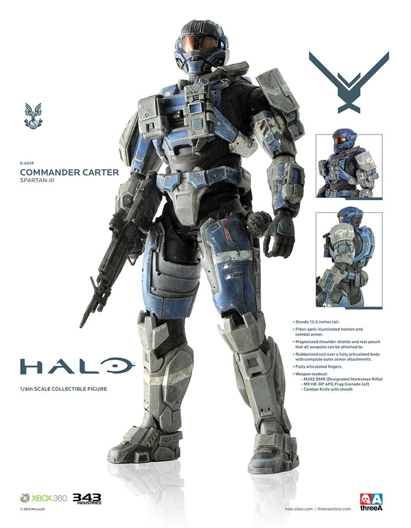 Giant Halo Figures Might be the Best Video Game Toys Ever Made