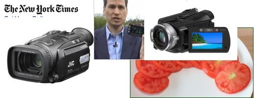 NYTimes' Pogue Tests High Def Hard Drive Camcorders