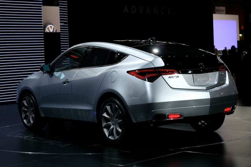 Acura ZDX Crossover: One Of Everything