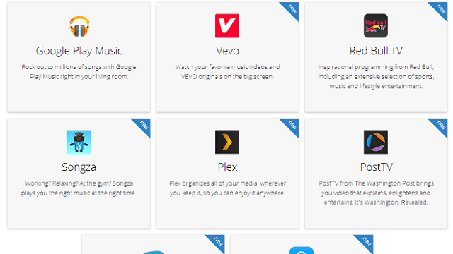 Chromecast Adds Ten New Apps Including VEVO, BeyondPod, and Plex