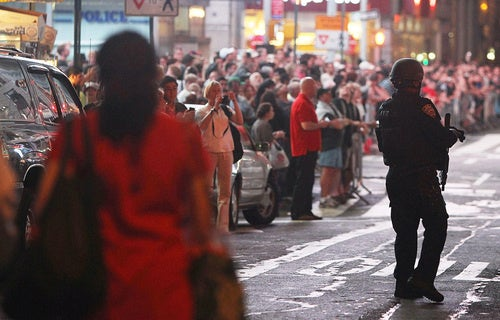 Times Square Evacuated Because of 'Failed Explosive Device' (Updated)