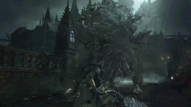 Looks Like Everything's Going to Burn in Bloodborne