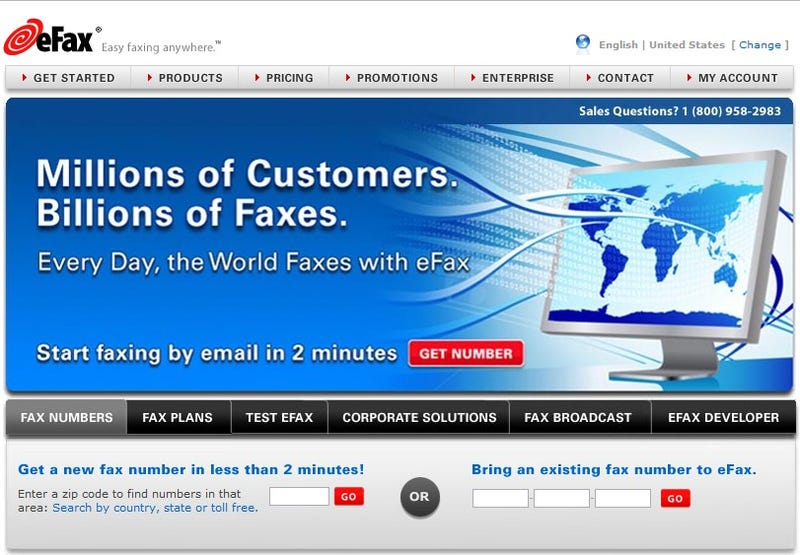 Five Best Fax Services