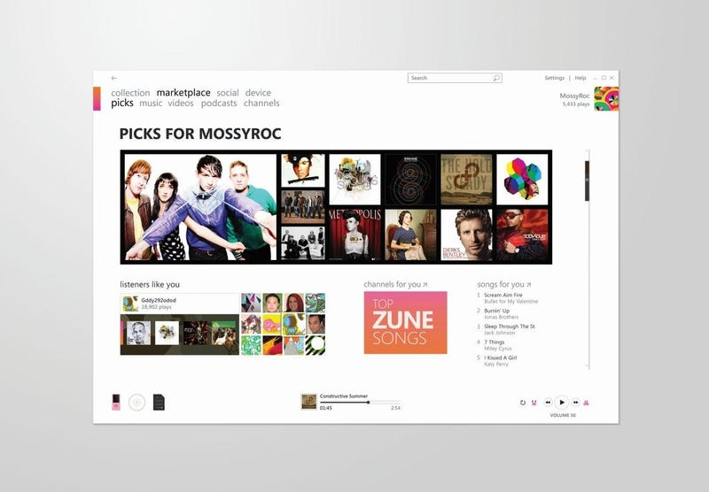 More Sneak-Peaks at the Forthcoming Zune 3.0 Software