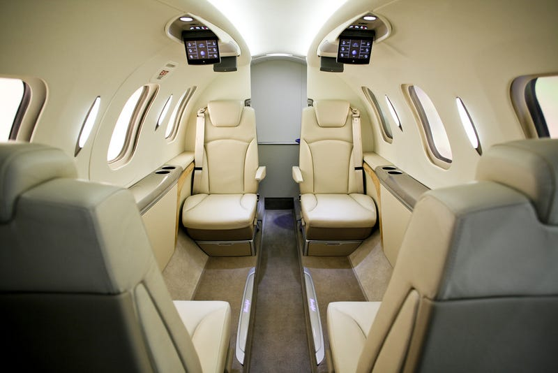 HondaJet: First Look Inside